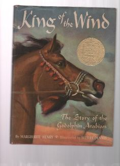 King Of The Wind - The Story Of Godolphin Arabian by Marguerite Henry http://www.amazon.com/dp/B000LTQ82O/ref=cm_sw_r_pi_dp_eOsLtb1RX7F6W91V