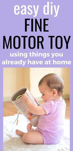 DIY Fine Motor Toy For for Infants