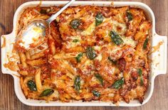 Easy Tuna Pasta Bake - Never tried this with tuna. I usually make this with 1lb of ground beef or leftover rotisserie chicken. It's a huge hit either way.