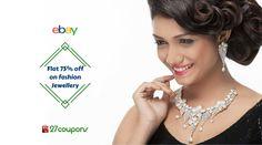 Want More....Shop More . Flat 75% off on Sukkhi Diamond #Jewellery @Ebay @27coupons #27coupons http://27c.in/PjjUK
