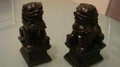 Chinesische Tempellöwen Tempelwächter Fu Hunde Skulptur Figur Statue. in Möbel & Wohnen, Dekoration, Skulpturen & Statuen | eBay