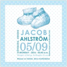 Blue Baby Shoes Canvas Frame