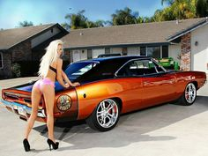 1969 Dodge Charger R/T - did you think i wouldn't save this one😎 American Muscle Cars, Us Cars, Sport Cars, Ford Mustang, Dodge Muscle Cars, Mopar Girl, Hot Rods, Car Girls, Sexy Cars