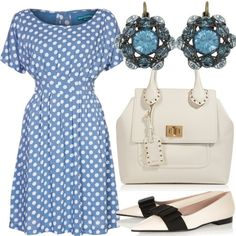 Kate Middleton Baby Style. I thought she looked gorgeous in that blue dress!