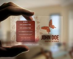Free transparent business card download mock up pinterest card metal business cards are perfect for a professional and modern look transparent business card flashek Image collections