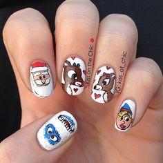 christmas by kiss_ot_chic #nail #nails #nailart