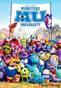 """Jigsaw Puzzles 1000 Pieces """"Monsters INC """""""