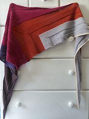 Ravelry: everyday shawl pattern by Jenny F