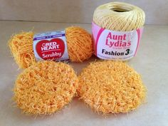 Kitchen Scrubby - Crochet - My Own Pattern