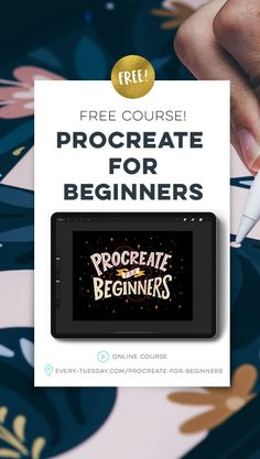 Free course! Procreate for Beginners: every-tuesday.com/procreate-for-beginners via @ teelac