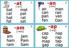 phonics flashcards for kindergarten short a sound Phonics Cards, Phonics Flashcards, Abc Phonics, Phonics Rules, Phonics Sounds, Jolly Phonics, Teaching Phonics, Phonics Worksheets, Phonics Lessons
