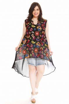 Νέες αφίξεις στα ρούχα μεγάλα μεγέθη - HappySizes Spring Is Here, High Low, Tunic Tops, Summer Dresses, Women, Fashion, Moda, Summer Sundresses, Fashion Styles