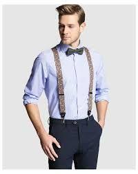 Resultado de imagen para trajes juveniles hombre azul con tirantes ... 580d880bf5e
