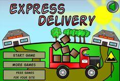 لعبة توصيل البضائع بسرعة لعبة حلوة من العاب سيارات الرائعة جداً علي العاب فلاش ميزو.