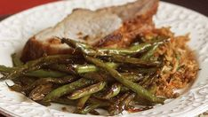 Chinese Restaurant-Style Sautéed Green Beans Recipe - Recipe - FineCooking