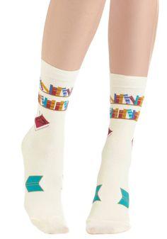 socks, for when you're feeling shelf-ish.