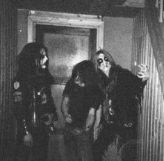 Euronymous, Necrobutcher, and Dead (Mayhem)