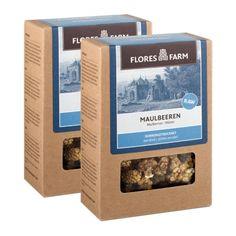 2 x Flores Farm Premium Bio Maulbeeren