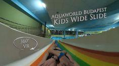 Aquaworld Budapest Kids Wide Slide 360° VR POV Onride Turn Off, Water Slides, Vr, Budapest, Kids, Young Children, Boys, Children, Kid