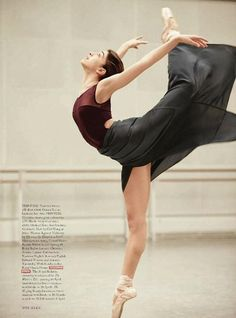 "Royal Ballet : ballerina Yasmine Naghdi: ""Poetry in Motions"": Dancers of the Royal Ballet (UK) by Tom Allen for Harper's Bazaar UK April 2014"