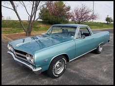 SOLD SOLD SOLD $16,000 Lot F167 1965 Chevrolet El Camino  350 CI, Automatic #MecumAnaheim