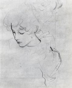 John Singer Sargent, Polly Barnard, 1885-6 (study for Carnation, Lily, Lily, Rose)