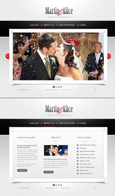 Wedding inspirations at the Coffee Break? Browse for more Wedding and XML Flash templates! // Regular price: $67 // Unique price: $3600 // Sources available: .SWF, .PSD, .FLA, .XML // #Wedding #XML #Flash #templates
