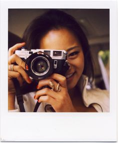 How to sell me the Leica M6? Simple, get Jamie Chung to hold it and i am sold. Actually... Jamie Chung can hold pretty much any gadget, and i'd still be sold! :D
