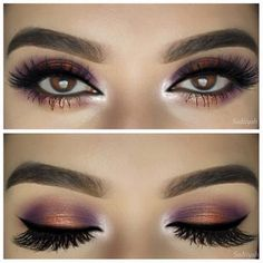 Sunset Eyes Using Anastasia Shadows - For products used, head over to Pampadour.com