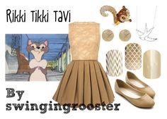 """Rikki Tikki Tavi"" by swingingrooster ❤ liked on Polyvore"