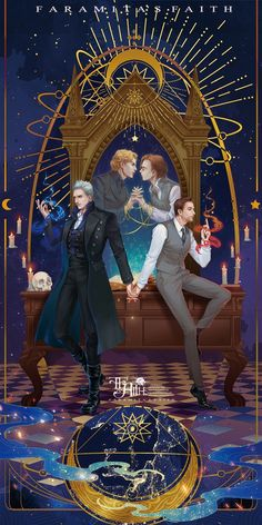 I think this could be a really nice poster. Grindeldore - I think this could be a really nice poster… Grindeldore - Harry Potter Anime, Harry Potter Poster, Arte Do Harry Potter, Harry Potter Artwork, Harry Potter Ships, Harry Potter Universal, Harry Potter Fandom, Harry Potter World, Harry Potter Hogwarts