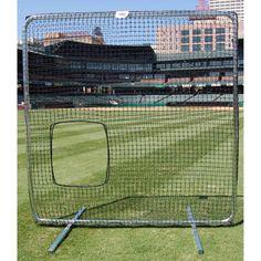 TSI ProCage Premium Softball Pitcher Screen 7ftx7ft w/Net