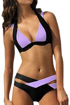 OWIKAR Women's Sexy Criss Cross Bandage Push Up Bikini Swimsuit swimwear - http://todays-shopping.xyz/2016/07/30/owikar-womens-sexy-criss-cross-bandage-push-up-bikini-swimsuit-swimwear/