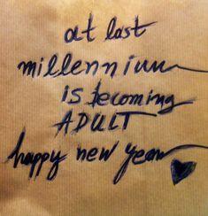 2018 happy new year adult millennium