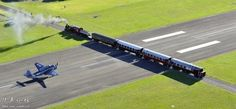 Gisborne Airport, New Zealand.   This North Island airport is one of the few in the world that has a railway line running through its runway. Both the railway and the airport are active, so lets hope they are precise about their scheduling.