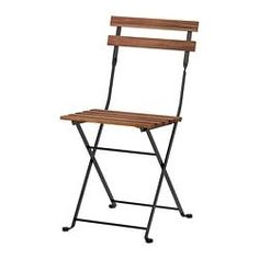 ikea TÄRNÖ folding chair - to paint Ikea Outdoor, Outdoor Seating, Outdoor Chairs, Extra Seating, Deck Chairs, Adirondack Chairs, Ikea Garden Furniture, Outdoor Dining Furniture, Rustic Furniture