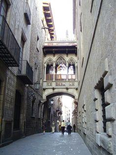 Puente de la Calle Obispo Irurita (Barcelona)