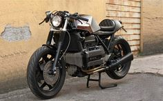 another nice K100 is riding on the street of Rome