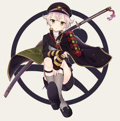 Touken Ranbu 刀剣乱舞 Hotarumaru bbfcaf04.png (852×865)