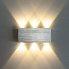 Led Lamps Amiable Cube Cob Led Night Light Wall Lamp Modern Home Indoor Lighting Decoration Sconce Aluminum 85-265v Lamp Night Light For Children Sales Of Quality Assurance Led Night Lights