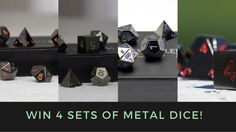 Help me win this $180 metal dice giveaway from @easyrollerdice