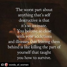 An important part of my recovery was forgiving myself for my illness. When the behaviors started it was all I knew how to do. It kept me alive at a time when I didn't know how to survive otherwise. . Forgiving myself let a huge weight off my shoulders - it gave me the chance to release the shame & guilt that kept me trapped in the vicious cycle. It made it ok that I hadn't been perfect. . Let yourself off the hook. I know forgiveness can feel like a stretch in the beginning so how about…
