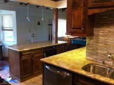 New Light Fixtures Installed   Envision Design Escondido Kitchen Remodel
