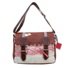 Disaster Designs Paper Plane Satchel / Shoulder Bag