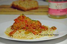 Thon basquaise - La cuisine de Ponpon: rapide et facile!