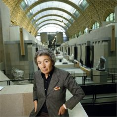 """Gae Aulenti A master of the improbable at her """"tour de force"""" the Galerie d'Orsay."""