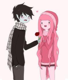 Marshall Lee and Princess Bubblegum, Adventure Time