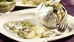 Fischliebhaber aufgepasst! Der leicht würzig-süße Dill gibt den zart gegrillten Kabeljaufilets einen besonders leckeren Geschmack.