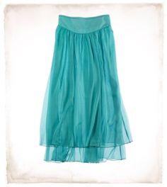 Aerie Chiffon Maxi Skirt