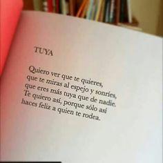 Solo Tuya !